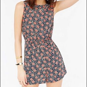 Urban Outfitters Kimchi Blue Floral Romper (S)